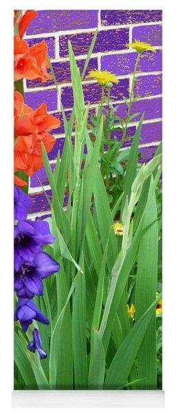 Colorful Gladiolas Yoga Mat