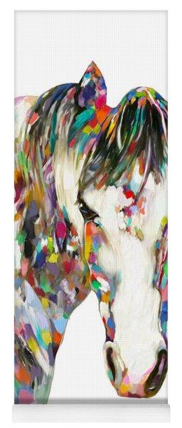 Colorful Horse Yoga Mat