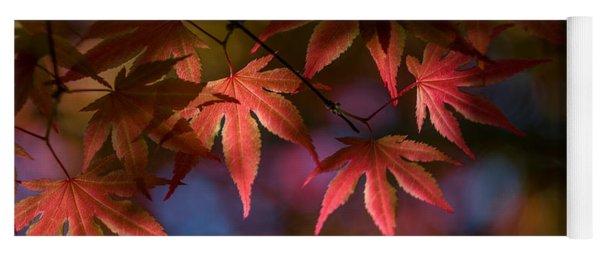 Colorful Japanese Maple Yoga Mat
