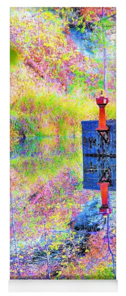Colorful Reflections Yoga Mat