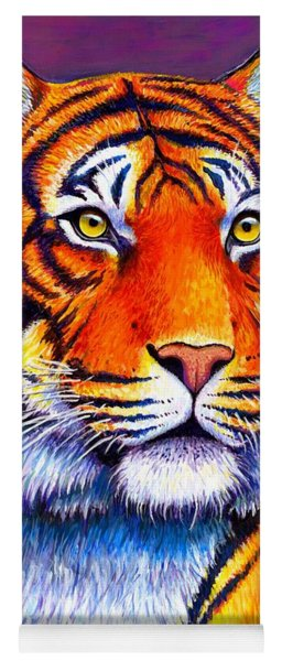 Fiery Beauty - Colorful Bengal Tiger Yoga Mat