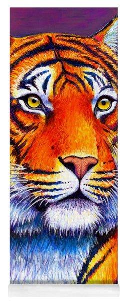 Colorful Tiger Yoga Mat