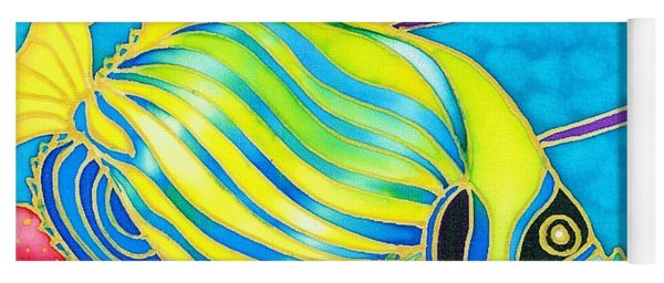 Colorful Tropics 10 Yoga Mat