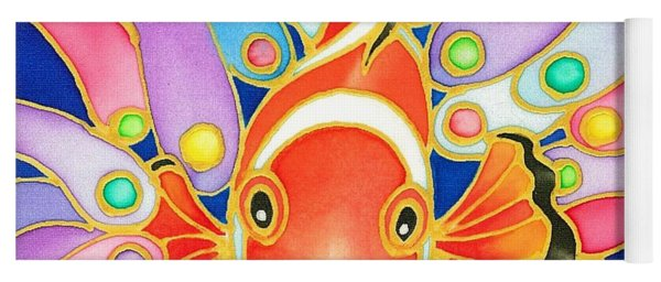 Colorful Tropics 2 Yoga Mat