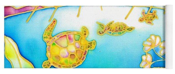 Colorful Tropics 7 Yoga Mat