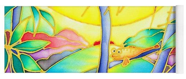 Colorful Tropics 8 Yoga Mat