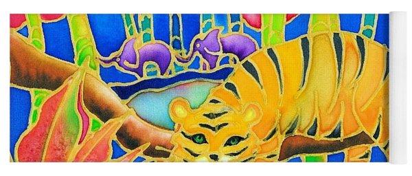 Colorful Tropics 9 Yoga Mat