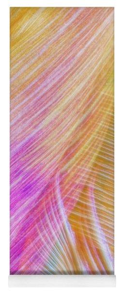 Colors And Shapes Yoga Mat