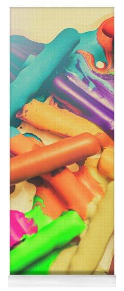 Colors In Crossfade Yoga Mat