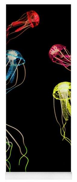 Colors Of Aquatic Life Yoga Mat