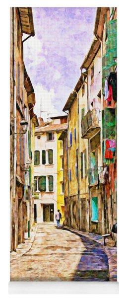 Colors Of Provence, France Yoga Mat