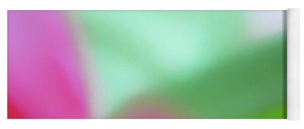 Colors Of Spring Abstract No 2 Yoga Mat