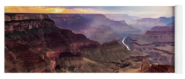 Colors Of The Canyon Yoga Mat