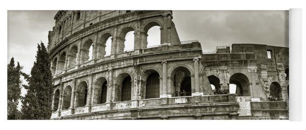 Colosseum  Rome Yoga Mat