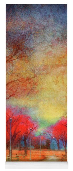 Colour Burst Yoga Mat