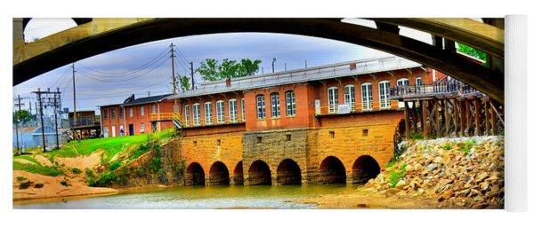 Columbia Canal At Gervais Street Bridge Yoga Mat