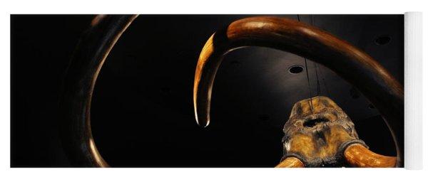 Columbian Mammoth La Brea Tar Pits Yoga Mat