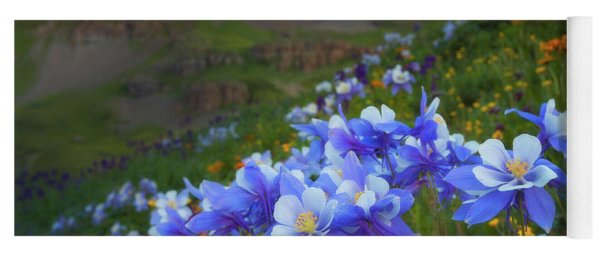 Columbine Sunrise Yoga Mat