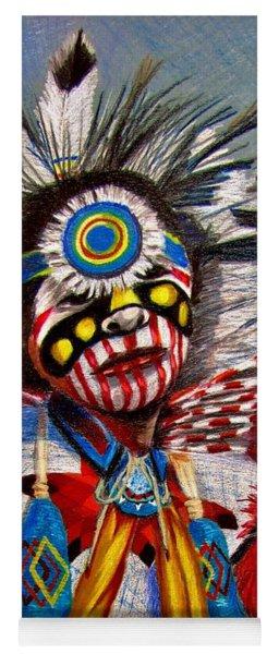 Comanche Dance Yoga Mat