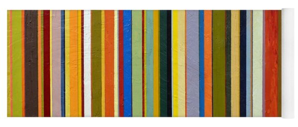Comfortable Stripes Yoga Mat
