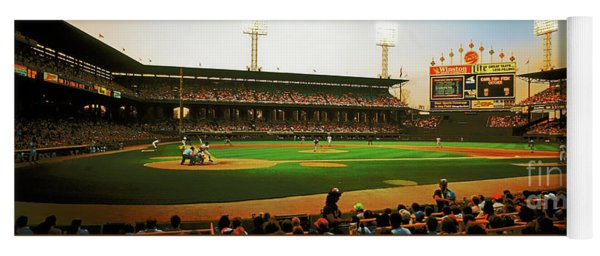 Comiskey Park  Twilight   Yoga Mat