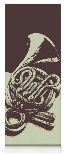 Concert Of A French Horn Yoga Mat