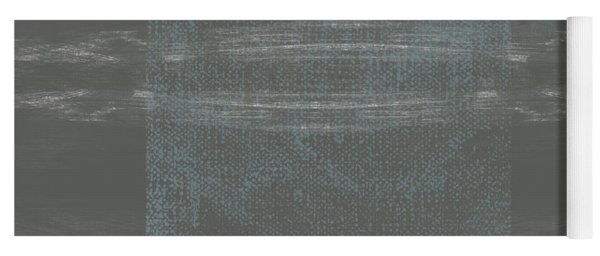 Concrete 2- Contemporary Abstract Art By Linda Woods Yoga Mat