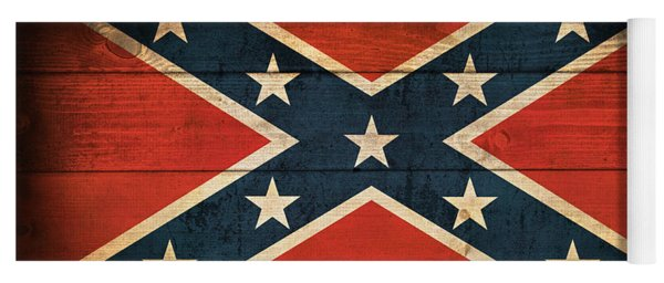 Confederate Flag Yoga Mat
