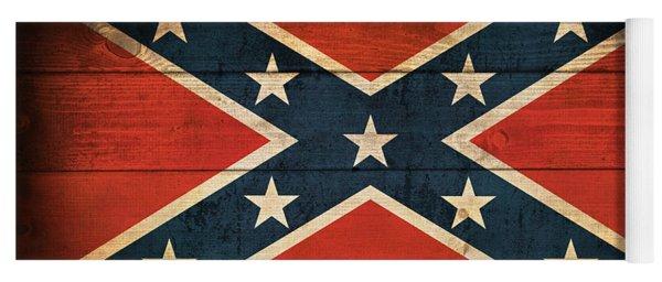 Confederate Flag Yoga Mat