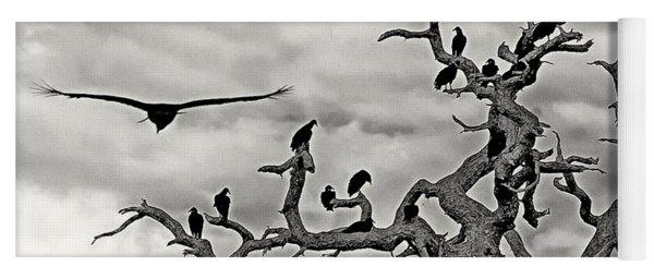 Congress Of Vultures Yoga Mat