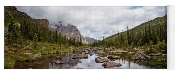 Consolation Lake Banff Yoga Mat