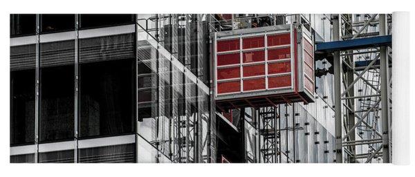 Construction Season Begins - Skyscraper - Utah Yoga Mat