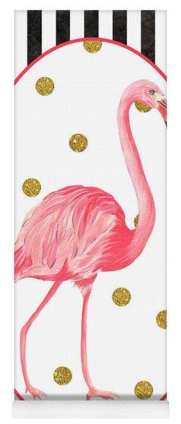 Contemporary Flamingos 2 Yoga Mat