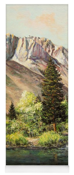 Convict Lake In May Yoga Mat