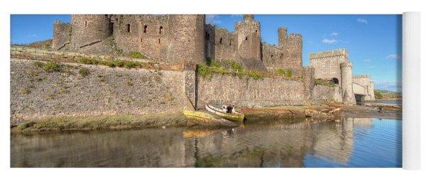 Conwy Castle Yoga Mat