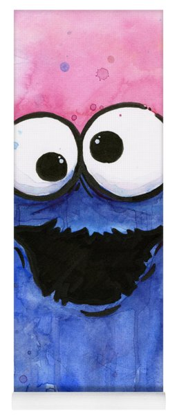 Cookie Monster Yoga Mat
