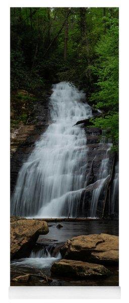 Cool Waterfall Georgia Mountains Yoga Mat