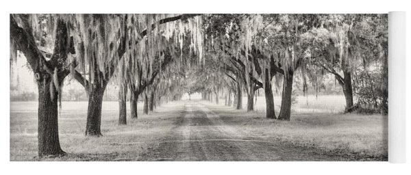 Coosaw Plantation Avenue Of Oaks Yoga Mat