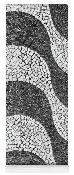 Copacabana Tiles In Rio De Janeiro Yoga Mat
