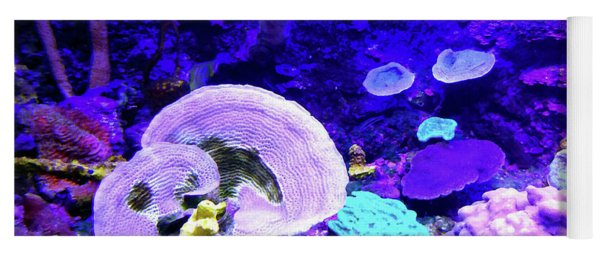 Coral Art Yoga Mat