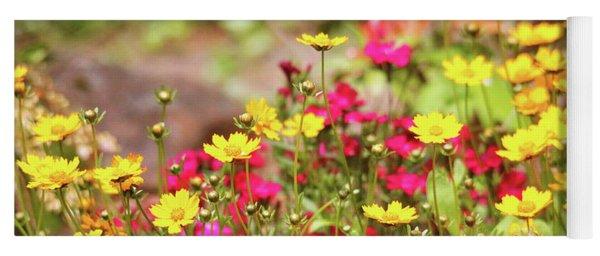 Coreopsis Garden Yoga Mat