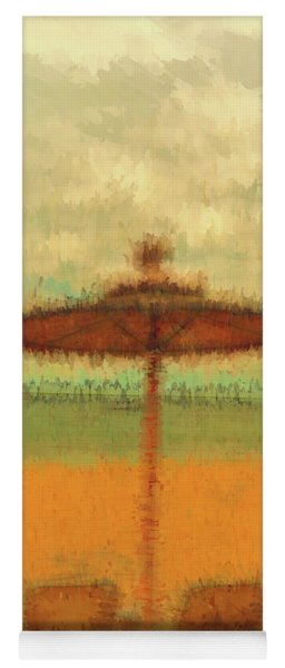 Yoga Mat featuring the photograph Corfu 18 - Mirage by Leigh Kemp