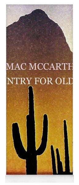 Cormac Mccarthy Poster  Yoga Mat
