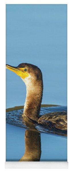Cormorant Reflection Yoga Mat