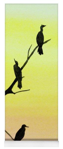 Cormorants Yoga Mat