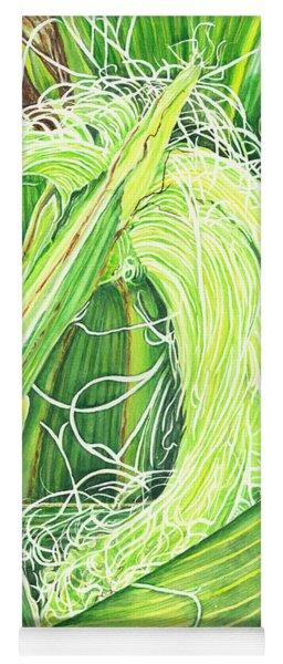 Corn Silk Yoga Mat