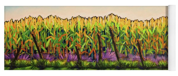 Cornfield Color Yoga Mat