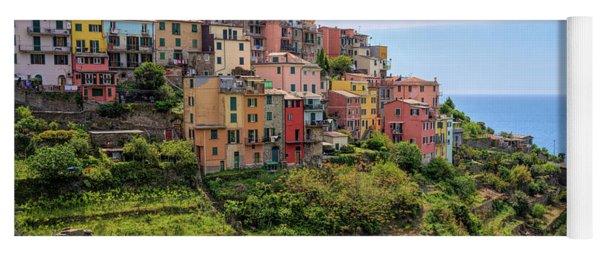 Corniglia Cinque Terre Italy Yoga Mat