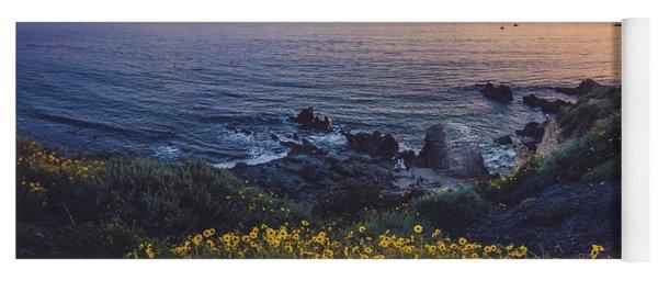 Corona Del Mar Super Bloom Yoga Mat