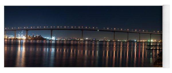 Coronado Bridge San Diego Yoga Mat